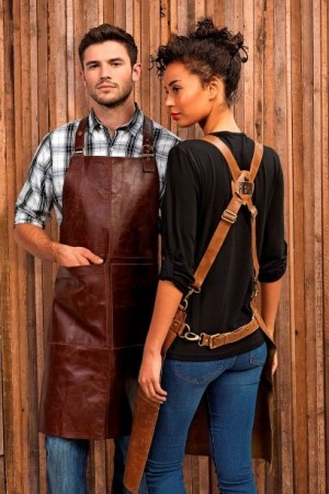 ARTISAN LEATHER APRON