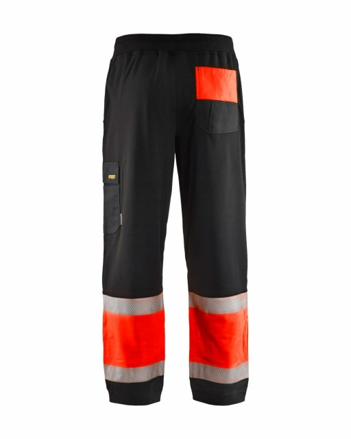 Sort/Highvis Rød